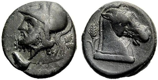 Monnaie carthaginoise (suite de mon incursion en Afrique) 42774210