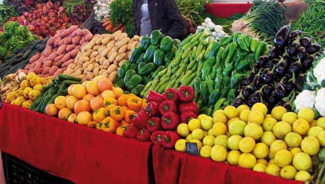 Marquant une évolution négative de 8% à fin janvier 2013 : Les prix des légumes reviennent à la normale Legume10