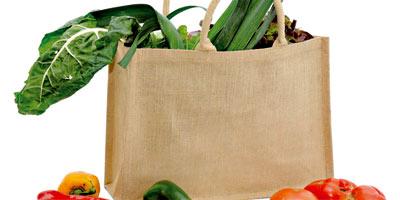 Des sacs écologiques en toile comme alternative au plastique Sacs-e10