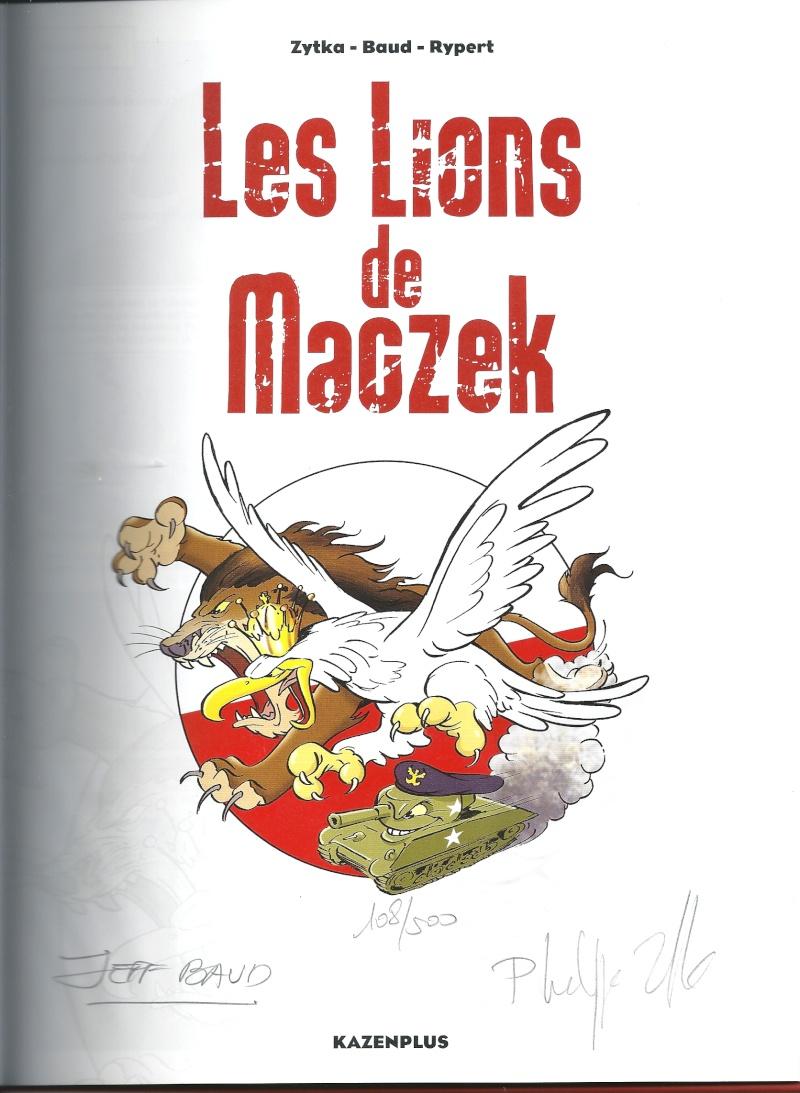"""BD """"Les lions de Maczeck"""" Numyri11"""