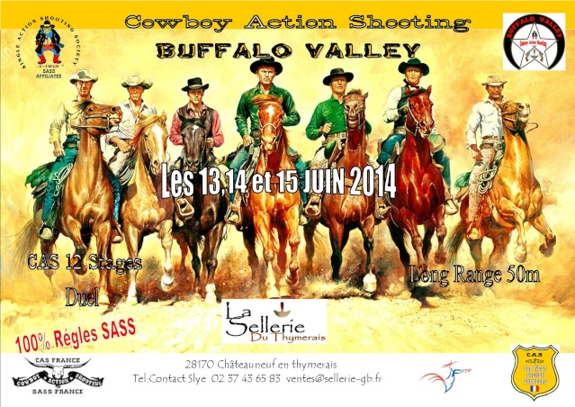 """CONCOURS """" BUFFALO VALLEY"""" 2014 by SLYE Affich10"""