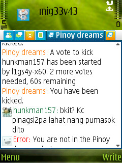 Kickers Kicking Chatters in Pinoy dreams Screen15