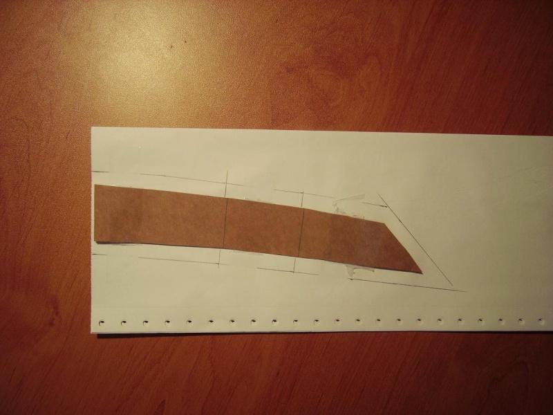 Bricolage d'un étui pour couteau. Imgp5111