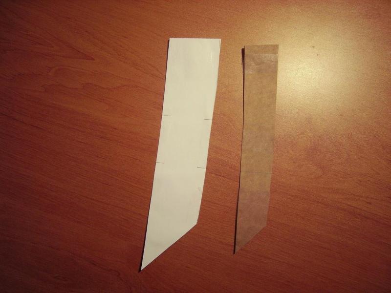 Bricolage d'un étui pour couteau. Imgp5112