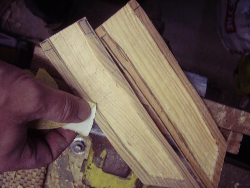 Bricolage d'un étui pour couteau. Imgp5120
