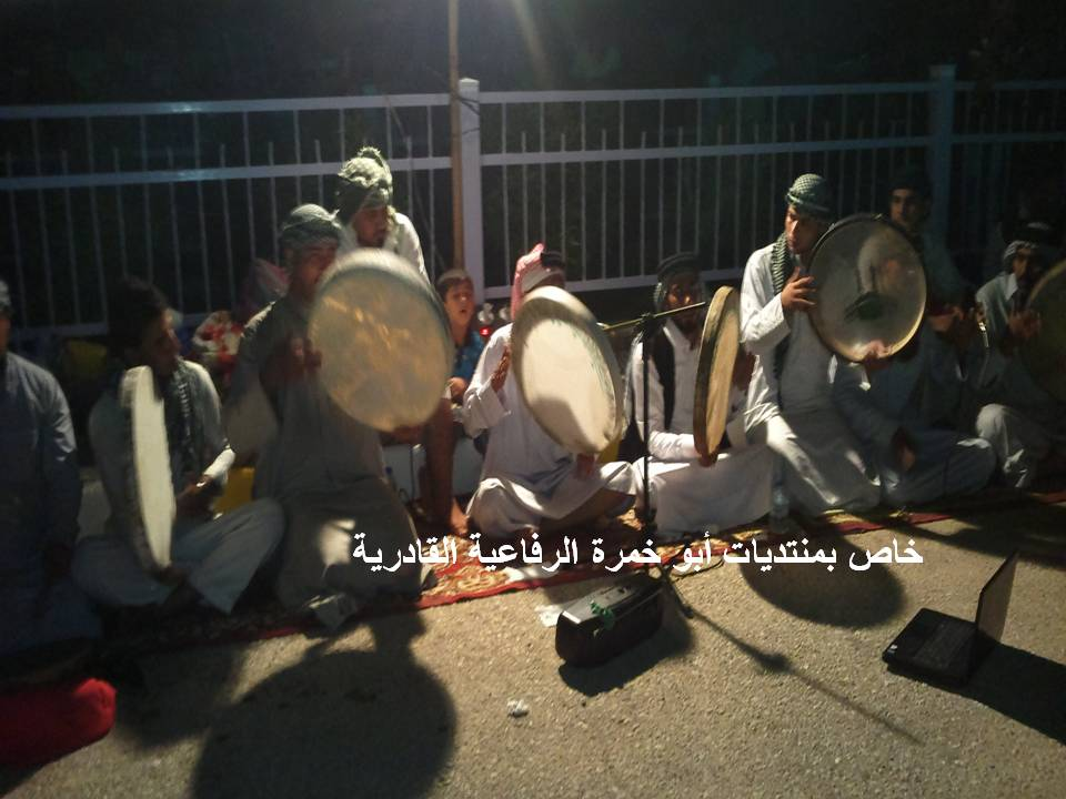 مراسيم زيارة مرقد السيد الشيخ أحمد الرفاعي الكبير 2013 910