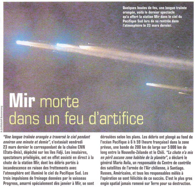 19 février 1986 - Station Spatiale MIR 01050010