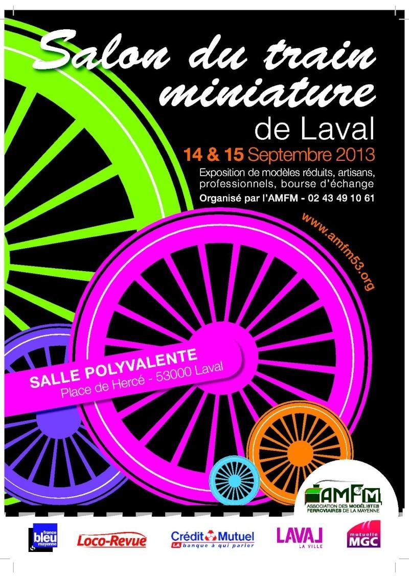 Exposition  laval 14 & 15 septembre 2013 Affich10