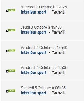 Intérieur Sport - Yachvili Intari10