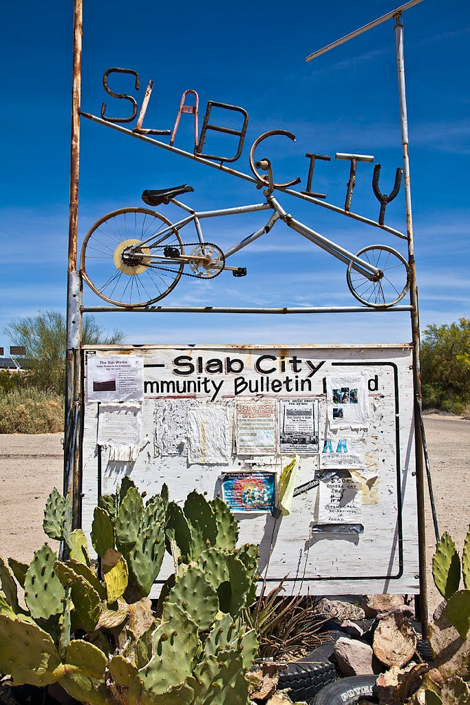 Slab city Californie USA Slab210