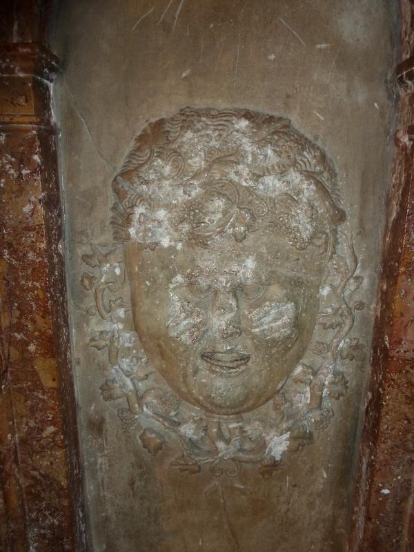 Chapelle Alchimique en l'Eglise de Pesmes (haute Saône 70) Chapel12