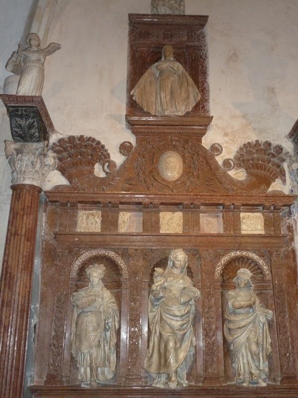 Chapelle Alchimique en l'Eglise de Pesmes (haute Saône 70) Chapel13