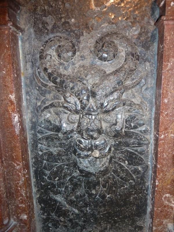 Chapelle Alchimique en l'Eglise de Pesmes (haute Saône 70) Chapel17