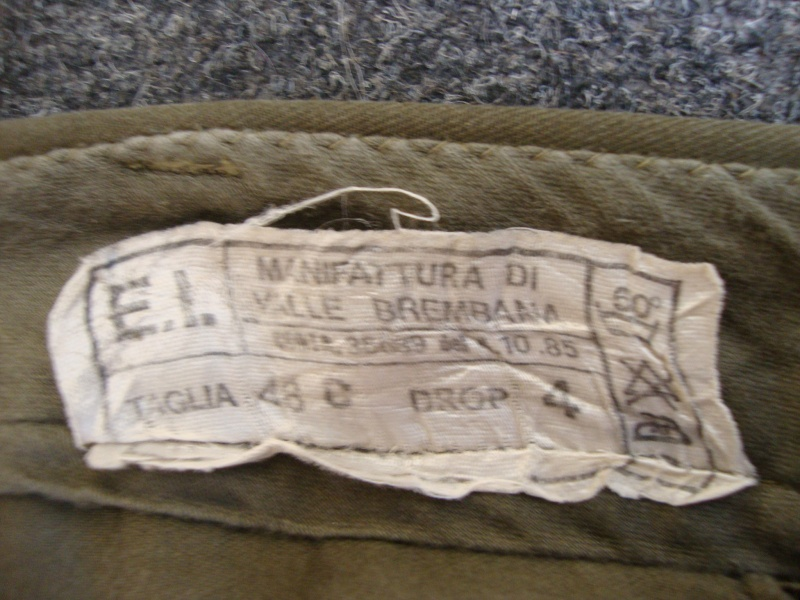 "ITALIAN OLD CLOTHING ""ROMA "" 00310"