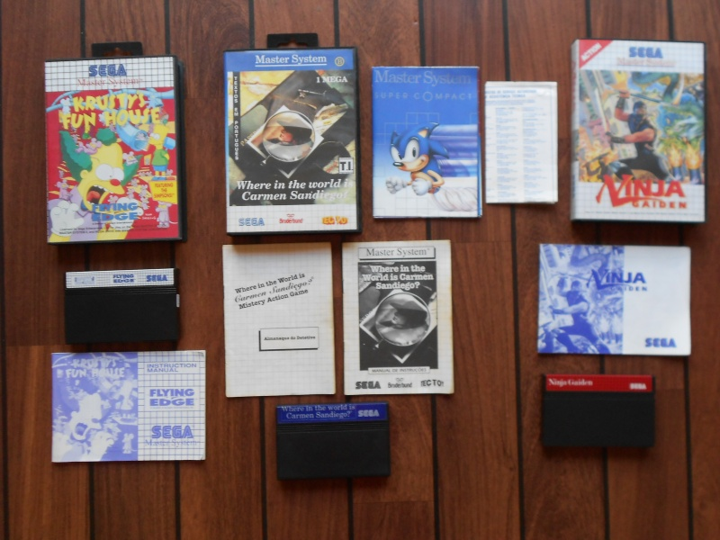 Warriors 33 Collection Sega master System  Photo_29