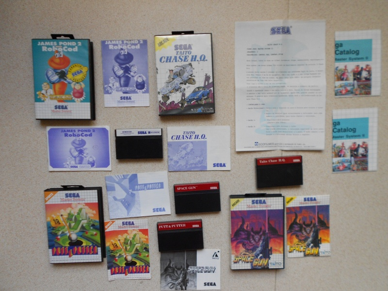 Warriors 33 Collection Sega master System  Photo_35
