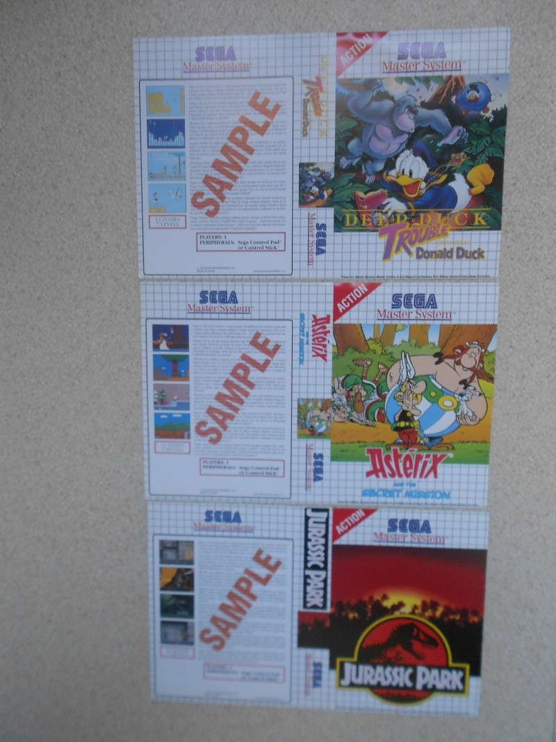 Warriors 33 Collection Sega master System  Photo_57