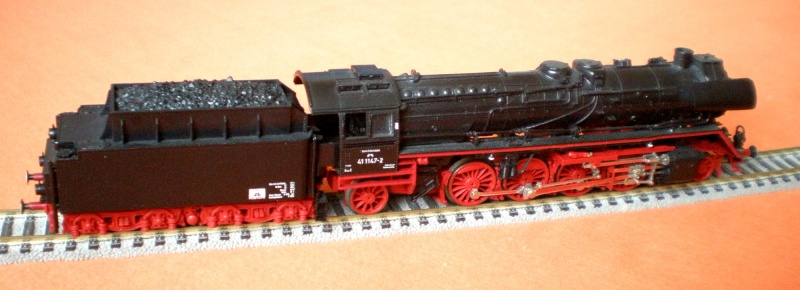 Variationen der Reichsbahn (DR) Br_41_11