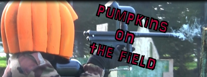 pumpkins ont the field : petit scenario halloween Pumpki11