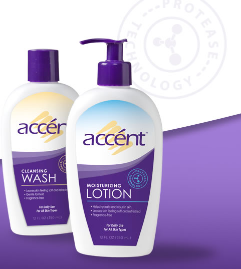 accent Cleansing Wash & Moisturizing Lotion ~ Review & Giveaway ~ Ends 10/10/2013 Bottle10