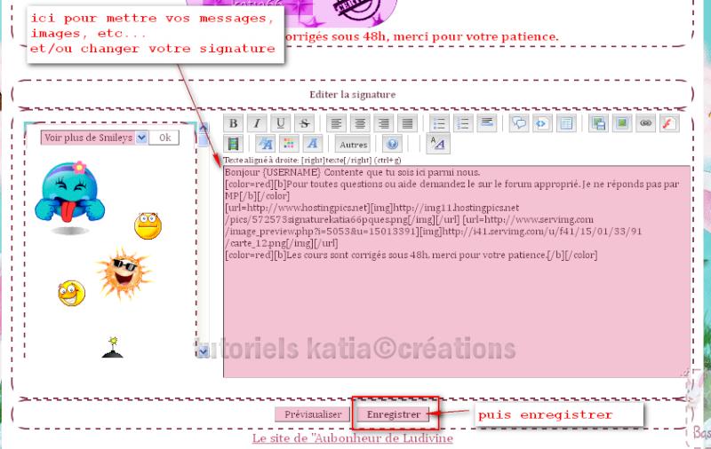 Comment édité votre profil sur le forum Editer15