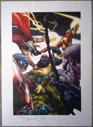 Résines et CGC du griffu - Nouveaux comics signés p.42 Avenge10