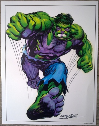 Résines et CGC du griffu - Nouveaux comics signés p.42 Hulk_s10