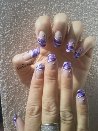 French Manucure aux ongles des mains  5_211