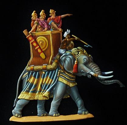 Elephants de guerre - Gottstein - plat 30mm  les 2 finis - Page 2 00111