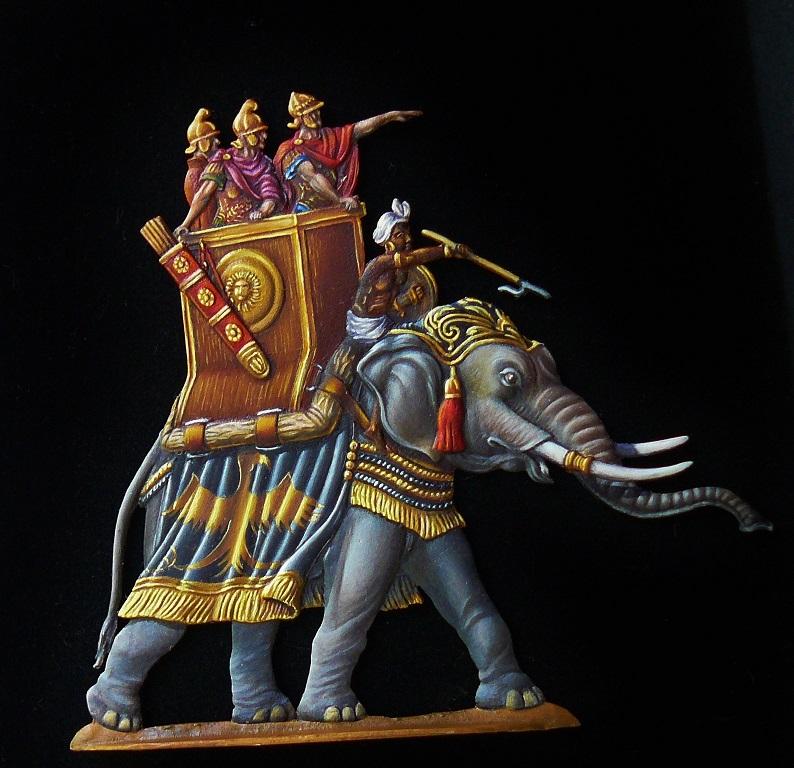 Elephants de guerre - Gottstein - plat 30mm  les 2 finis - Page 2 Armye_10