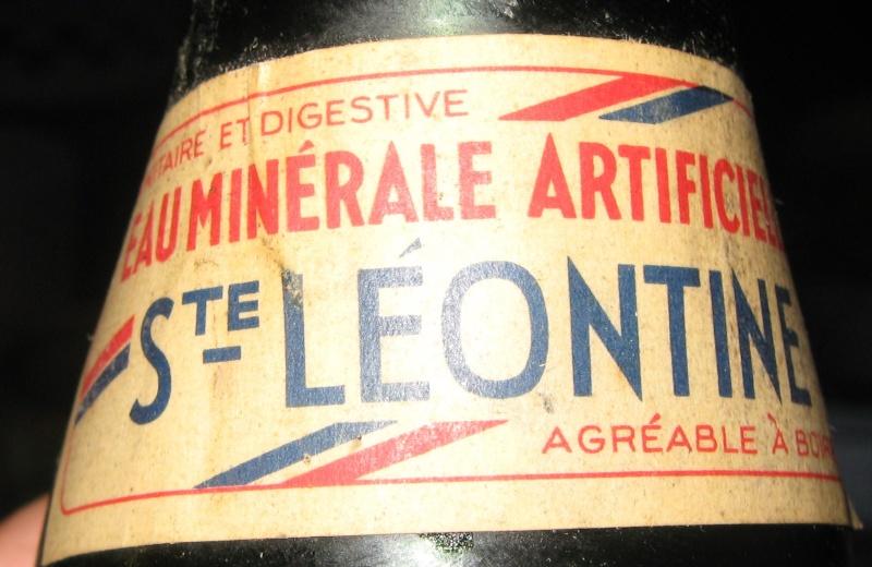 Eau minérale Ste-Leontine - Wilfrid Paquet Grand'Mère, PQ  Img_7811