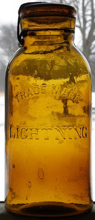 Trade Mark LIGHTNING demi gallon  embree  Lightn10