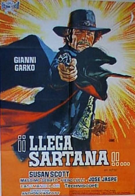 Une trainée de poudre... les pistoleros arrivent ! Una nuvola di polvere... un grido di morte... arriva Sartana de Giuliano Carnimeo, 1971 Llega-10