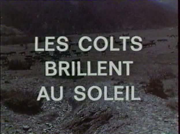 Les Colts brillent au Soleil - Quanto Costa A Morire - 1968 - Sergio Merolle Vlcsna10