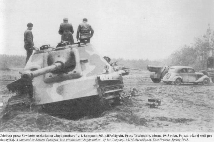 Jagdpanther ( nato nelle officine Sven?) Jagd310