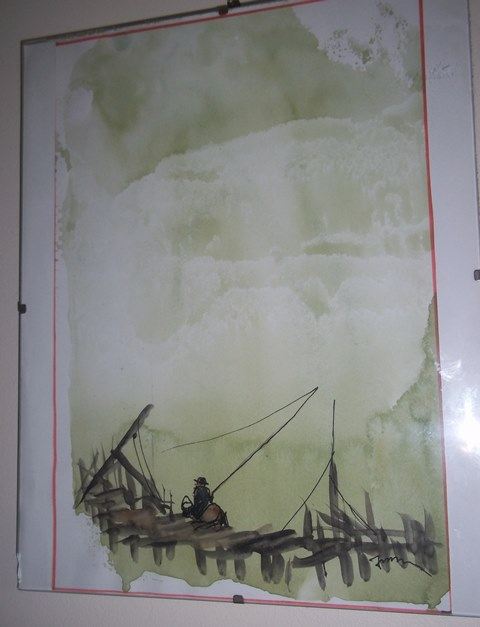 Two water colour pictures same artist. Any ideas please. Copy_o17