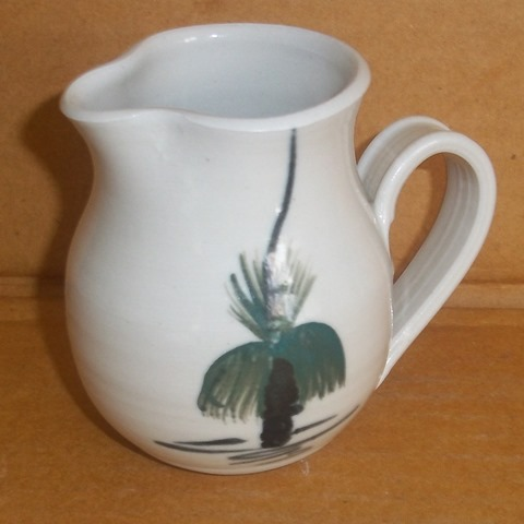 Little hand painted jug signed HB - Helen Bromley, Australia  Copy_o22