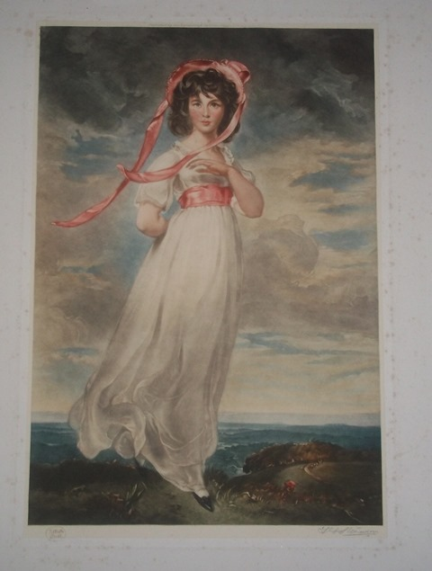 Victorian 'ARTISTS PROOF' print Signed. Copy_o24