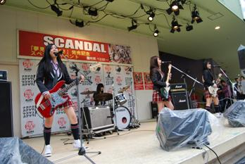 SCANDAL @ Heave Ho! Sony's Festival (10.17.2009) Blog0910
