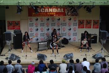 SCANDAL @ Heave Ho! Sony's Festival (10.17.2009) Blog0911