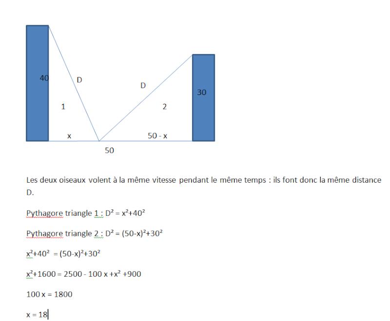 Problème : des erreurs dans un énoncé de maths au brevet blanc. Screen10