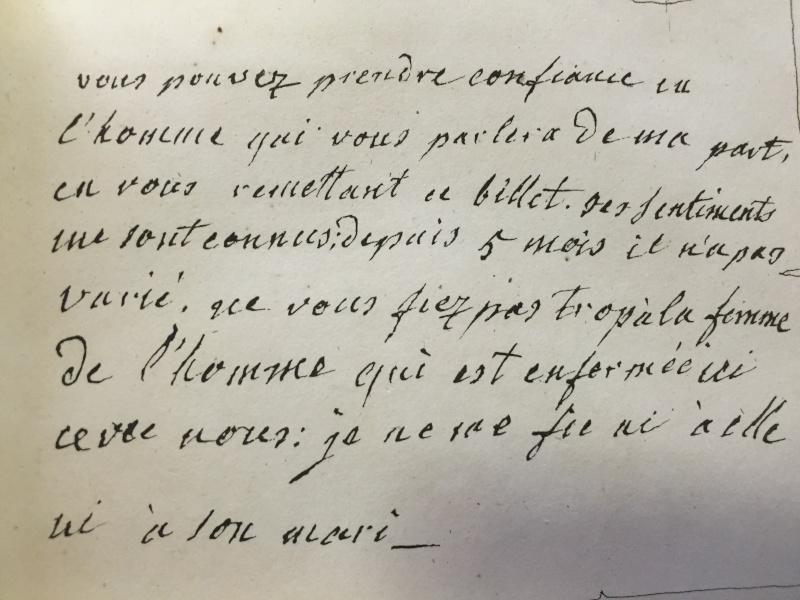 Jarjayes - La correspondance de Marie-Antoinette avec Jarjayes Img_6614