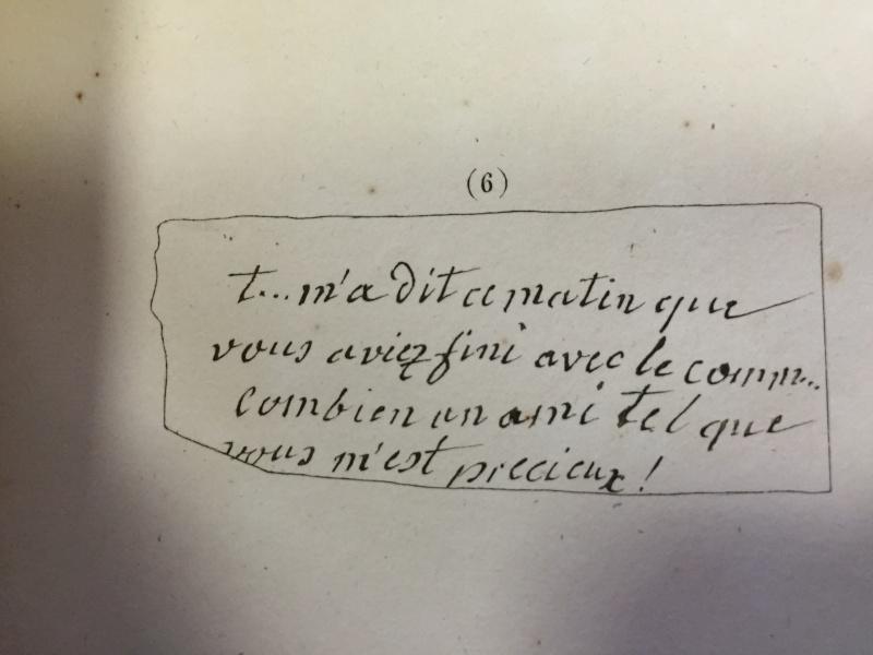 Jarjayes - La correspondance de Marie-Antoinette avec Jarjayes Img_6617