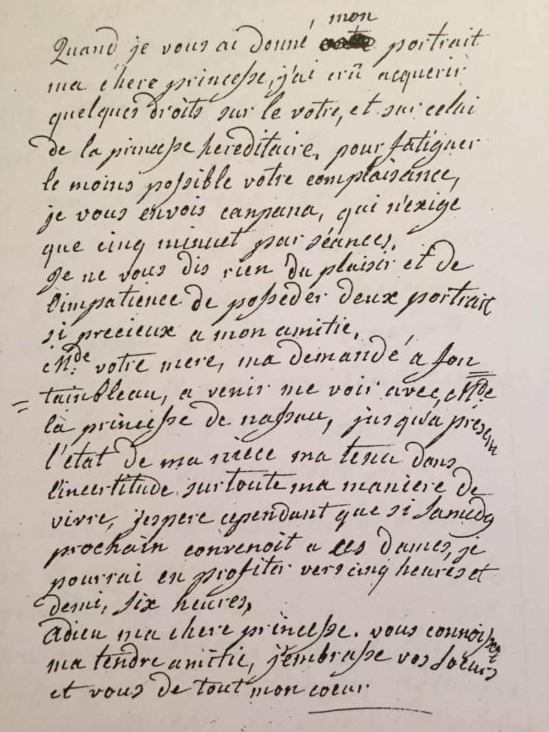 Hesse - La correspondance de Marie-Antoinette avec Charlotte de Hesse-Darmstadt, duchesse de Mecklembourg Img_6623