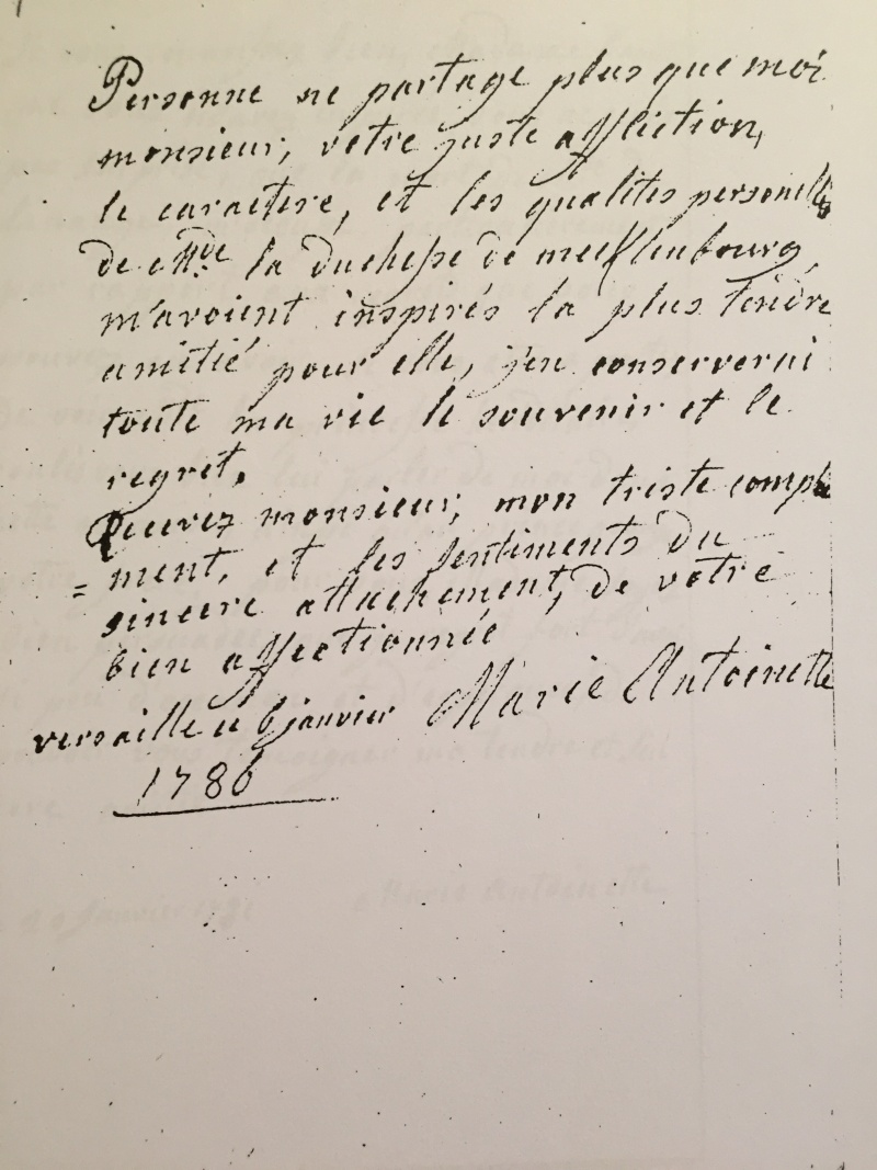 Hesse - La correspondance de Marie-Antoinette avec Charlotte de Hesse-Darmstadt, duchesse de Mecklembourg Img_6625
