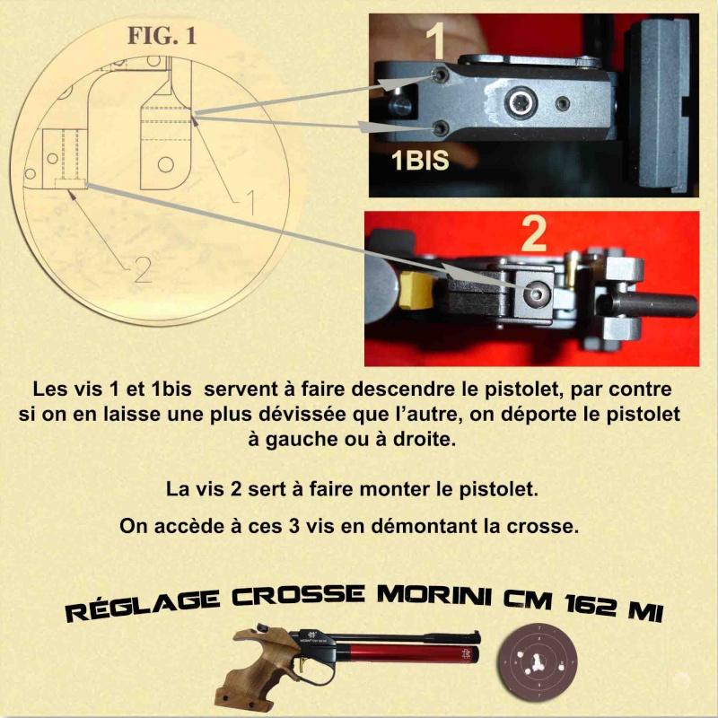 Réglage crosse Morini 162 MI Reglag10