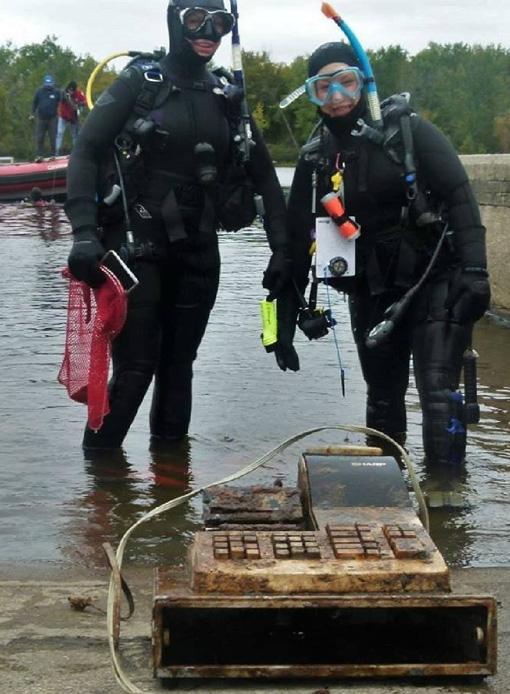 Rapport de plongée - Projet Belle-Eau Phase 2, Rivière des Outaouais - 7 octobre 2018 11-cas10