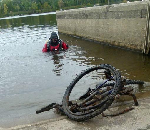 Rapport de plongée - Projet Belle-Eau Phase 2, Rivière des Outaouais - 7 octobre 2018 17-vel11