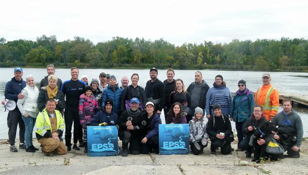 Rapport de plongée - Projet Belle-Eau Phase 2, Rivière des Outaouais - 7 octobre 2018 29-gro10