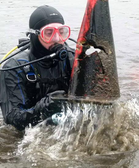 Rapport de plongée - Projet Belle-Eau Phase 2, Rivière des Outaouais - 7 octobre 2018 6-cone10
